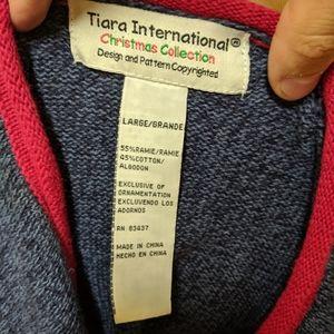 tiara international Sweaters - ♥️ Tiara international Christmas sweater large